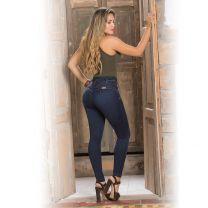 Push-up Jeans Hoge Taille Figuurcorrigerende Spijkerbroek Dames