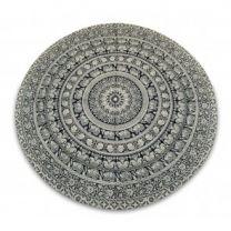 Indiaas Mandala Handgemaakt Kleed Rond- Ranchi