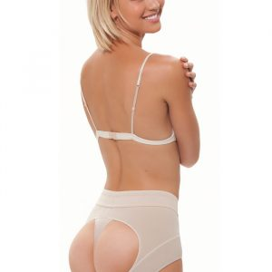 BUBBLES Double-O STRONG Powernet Lage Taille Kont-Lift Slip-0