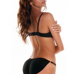 BUBBLES Caboost! String Bikini Slip met Vulling-0