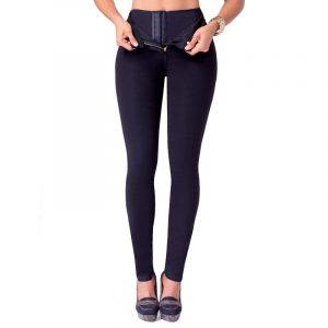 Push-Up Jeans met taillevormer - DenimDark-0