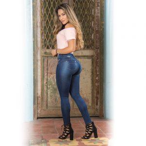 Push-up Jeans Figuurcorrigerend met uitneembare vullingen