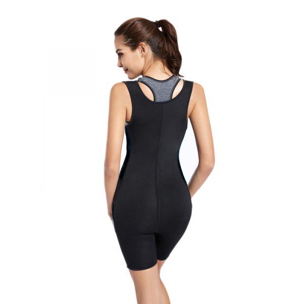 Neopreen Compressie Zweetpak Bodysuit Saunapak Vrouwen Sport Fitness-2762